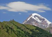 Казбек (5033 м) с юга по классическому пути - 2017