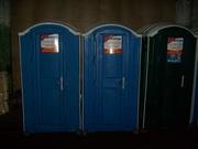 Туалетная кабина,  биотуалет б/у в хорошем состоянии