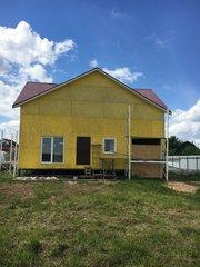 Продаю 2эт дом+ земля 12 сот пмж газ свет вода