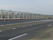 Оборудование дорожное экраны шумозащитные
