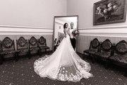 Сваднбное платье со шлейфом
