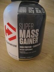 Dymatize Nutrition,  Super Mass Gainer,  со вкусом ванили (2, 7 кг)