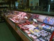 Колбасный отдел в действующем магазине