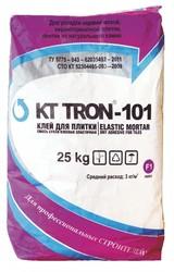 Клей плитки КТтрон-101 эластичный гидроизоляционный с повышенной водонепрониц
