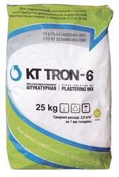 Штукатурная смесь гидроизоляционная  КТтрон-6 (выравнивающая и финишна