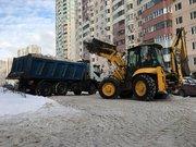 Уборка и вывоз снега в Москве и Московской области