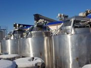 Сыроизготовитель 12 кубов,  пр-во Alfa-Laval OST-M2,  вертикального типа