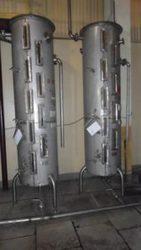 Мерники нержавеющие спиртовые,  объем 75 дал (750л),  первого класса