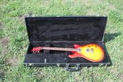 PRS DGT 2008 Cherryburst,  David Grissom signature.