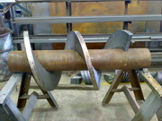 Шнеки Спирали для Транспортеров Конвейеров Бурового оборудования