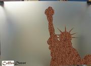 Эксклюзивные картины ручной работы из кофейных зерен