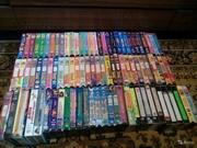 Видеокассеты с зарубежными мультсериалами.