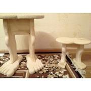 Табурет малый деревянный,  Ноги не устанут
