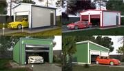 Cтроим быстровозводимые гаражи