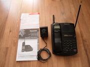 Беспроводной радиотелефон Panasonic KX-TC1451B  почти новый,  стандарта