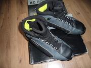 Ботинки лыжные Fisher XC SPORT YELLOW FIN,  EU размер 45. В отличном со