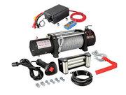 Лебедка автомобильная Electric Winch 12v-24v,  12000LBS (кевлар трос)