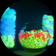 Светящиеся декоративные камни AcmeLight PVC Stones