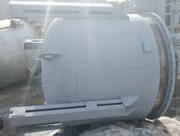 Реактор нержавеющий (сборник), объем — 2 куб.м.,  рубашка,  без мешалки и