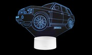 3D лампа - ночник Range Rover