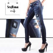 Молодёжные джинсы/брюки  сток оптом  итальянских популярных брендов.