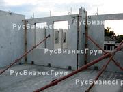 Подкос двухуровневый для монтажа панелей стен жби пятка-крюк