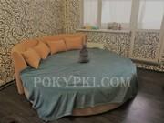 Купить круглую кровать «Индира»
