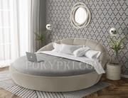 Купить круглую кровать «Милана»