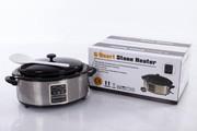 Овальный нагреватель для массажных камней 6 л. (с дисплеем)