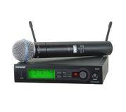 Микрофон SHURE SLX24/BETA58 проф.радиосистема.