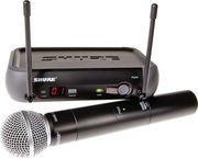 Микрофон SHURE PGX24/SM58 проф.радиосистема.КЕЙС.