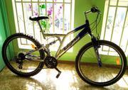 Продам двухподвесный велосипед «TEXO»